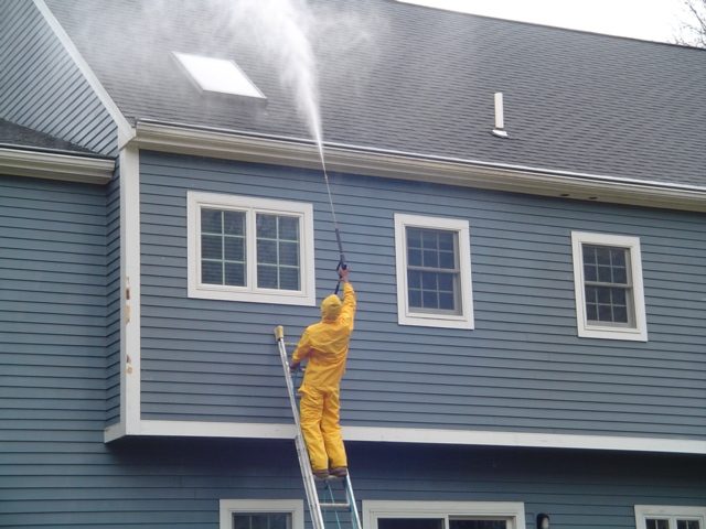 power washing in manchester CT